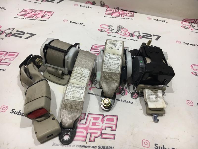 Ремень безопасности Subaru Outback BP9 EJ253 2004 задний (б/у)