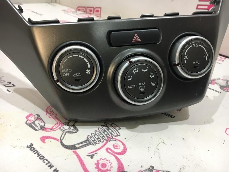 Блок управления климат-контролем Subaru Impreza GH8 EJ20X 2007 (б/у)