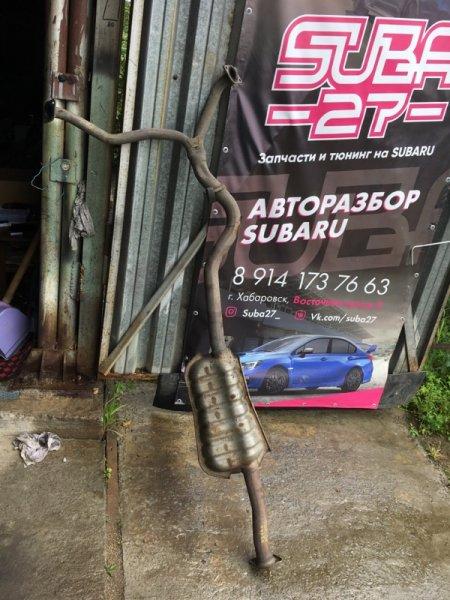 Глушитель Subaru Legacy BP5 EJ20Y 2004 (б/у)
