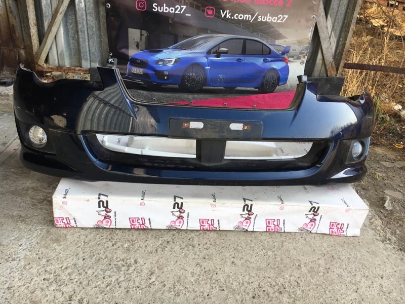 Бампер Subaru Legacy BP5 EJ20X 2007 передний (б/у)