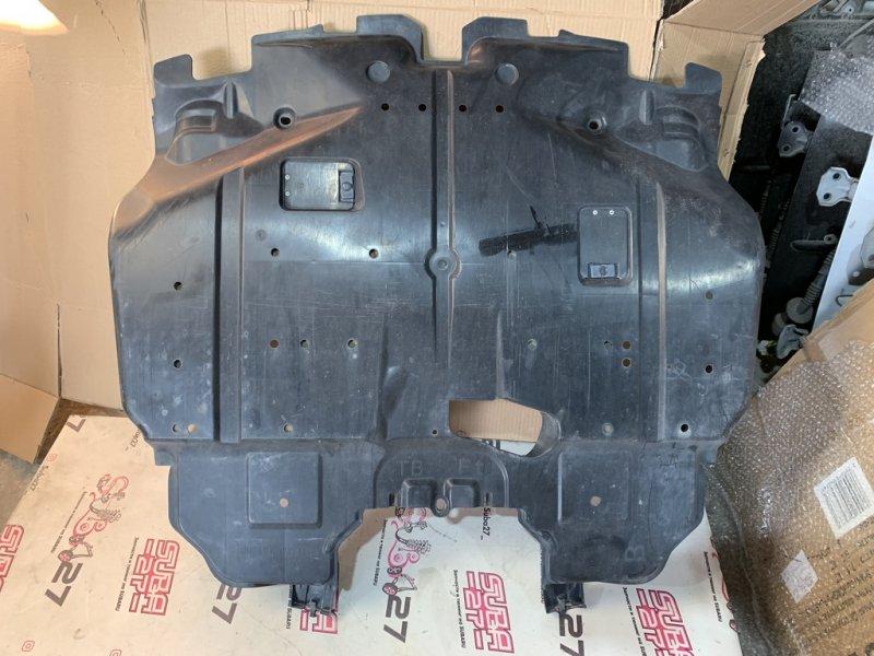 Защита двигателя Subaru Legacy BP5 EJ20X 2007 передняя нижняя (б/у)