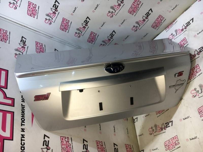 Крышка багажника Subaru Impreza Wrx Sti GVF EJ257 2011 задняя (б/у)
