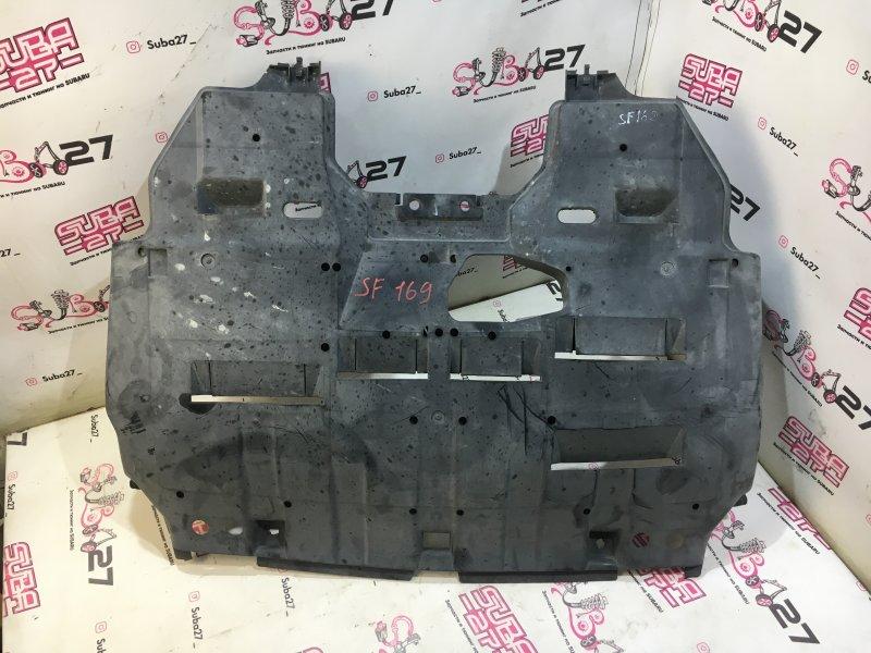 Защита двигателя Subaru Forester SF5 EJ205 2001 нижняя (б/у)