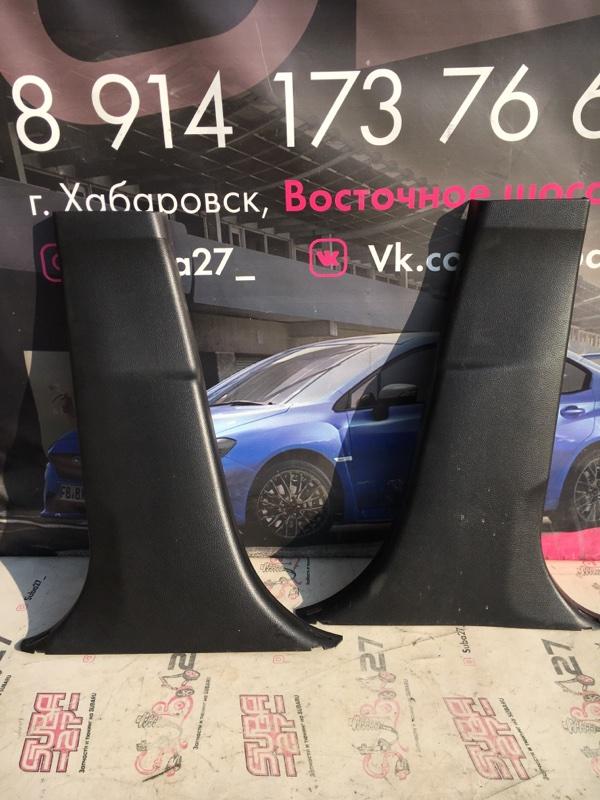 Накладка на стойку Subaru Legacy BM9 EJ255 2010 (б/у)