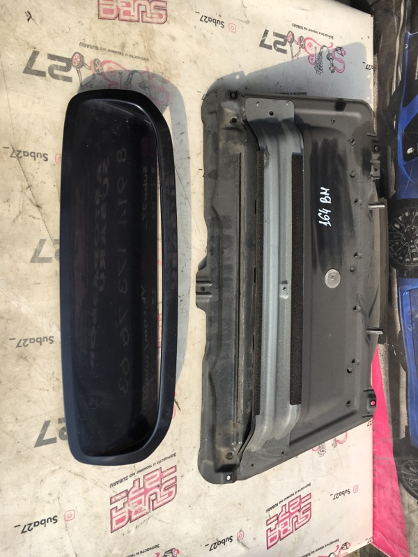 Ноздря капота Subaru Legacy BM9 (б/у)