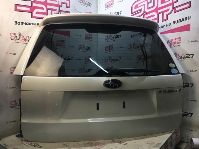 Дверь багажника Subaru Forester SH5 EJ204 2008 (б/у)