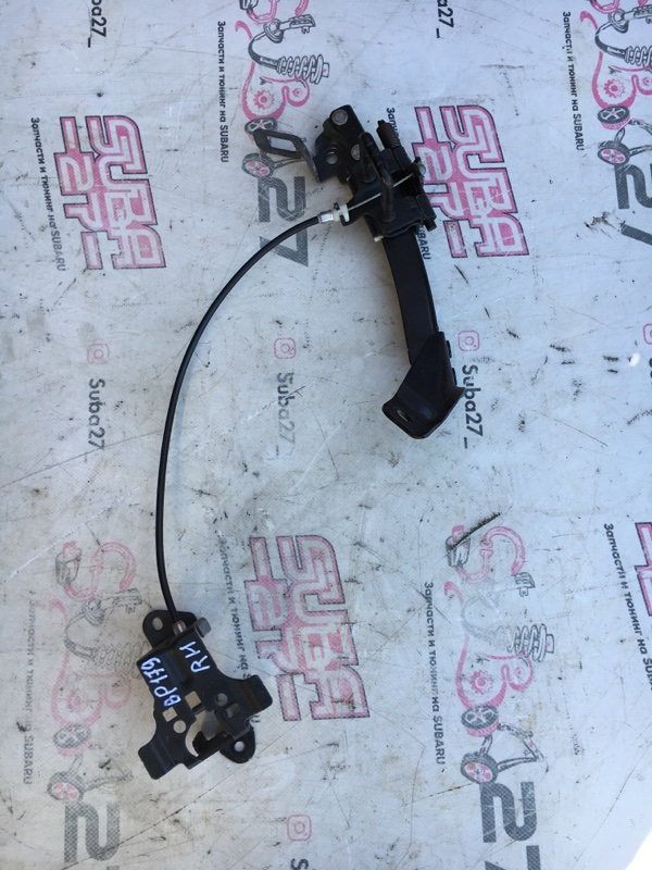 Механизм регулирования задних сидений Subaru Legacy BP5 EJ20X 2008 правый (б/у)