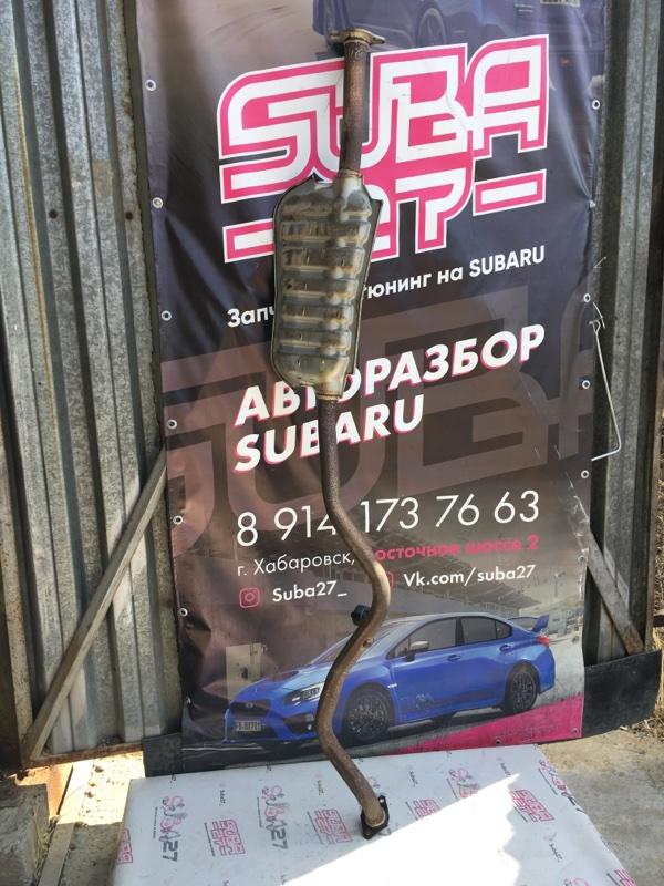 Глушитель Subaru Impreza GH3 EL154 2009 (б/у)
