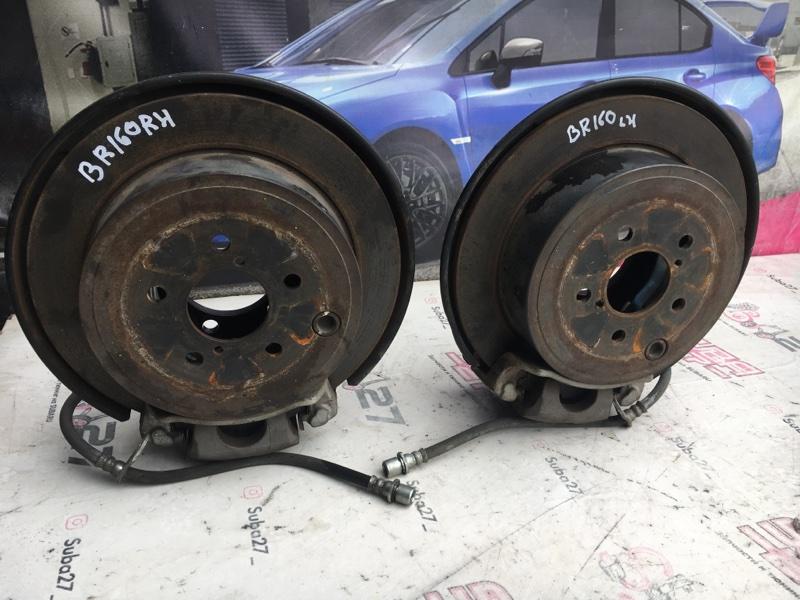 Тормоза Subaru Legacy BR9 EJ253 2010 задняя (б/у)