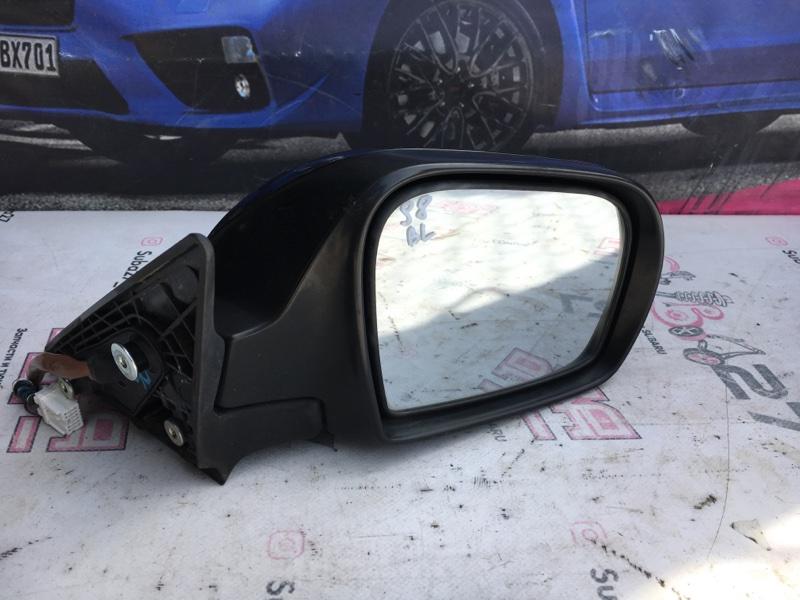 Зеркало заднего вида боковое Subaru Legacy BL5 EJ20X 2007 правое (б/у)