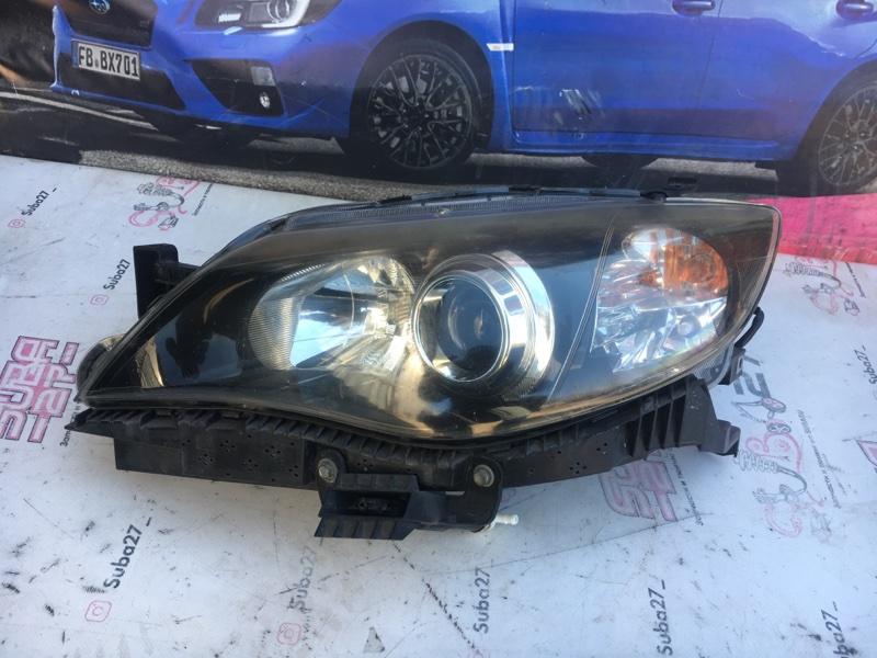 Фара Subaru Impreza Wrx Sti GVB EJ207 2010 передняя левая (б/у)