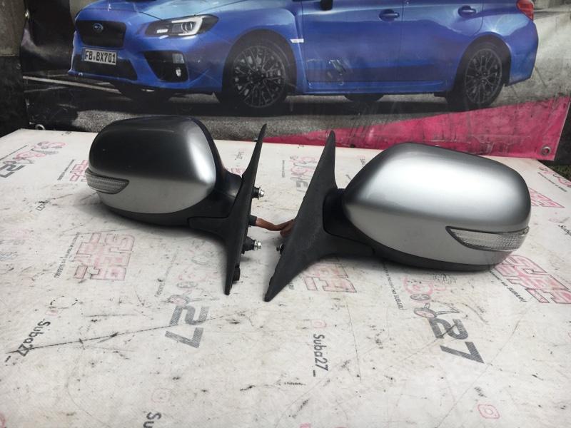 Зеркало заднего вида боковое Subaru Legacy BP5 EJ20X 2008 (б/у)