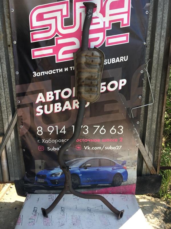 Выхлоп Subaru Legacy BP5 EJ20X 2008 (б/у)