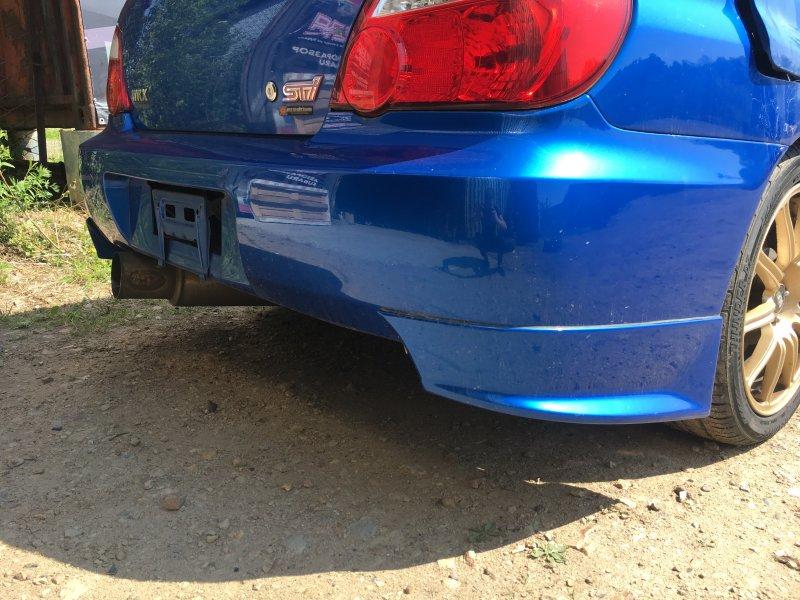 Бампер Subaru Impreza Wrx Sti GDB EJ207 2003 задний (б/у)