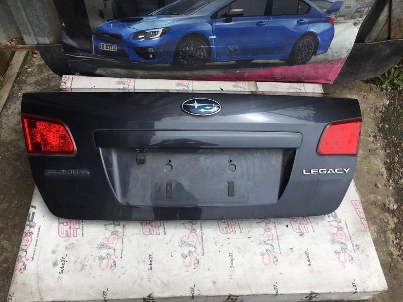 Крышка багажника Subaru Legacy BM9 EJ255 2011 (б/у)