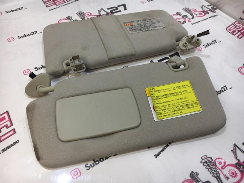 Козырек солнцезащитный Subaru Legacy BM9 EJ255 2011 передний (б/у)