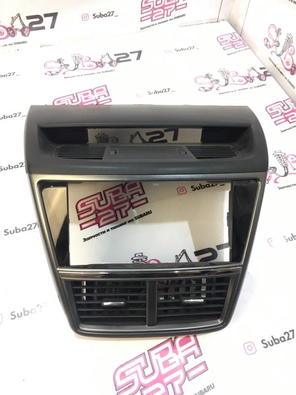 Рамка магнитолы Subaru Exiga YA5 EJ205 2008 (б/у)