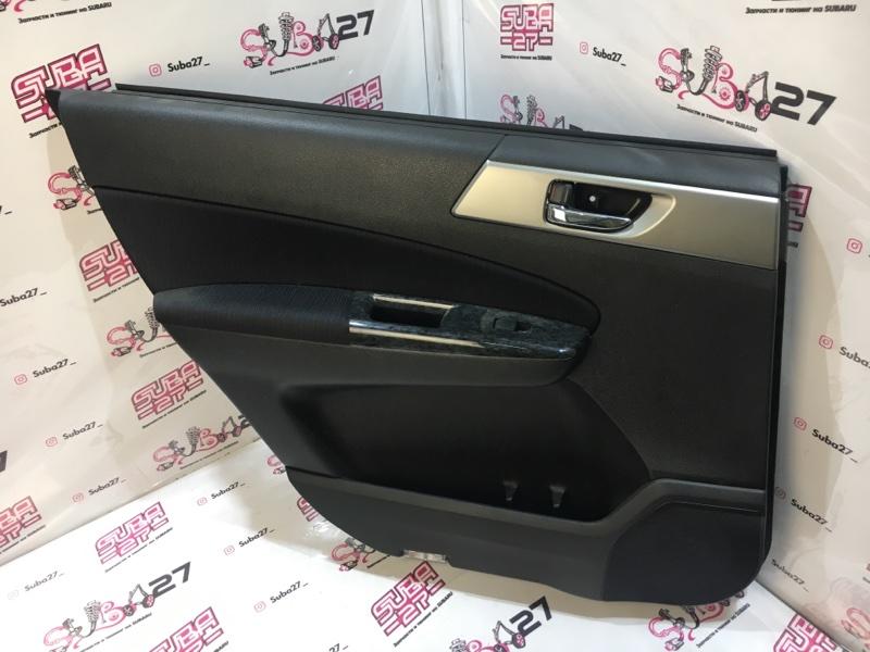 Обшивка двери Subaru Exiga YA5 EJ205 2008 задняя левая (б/у)