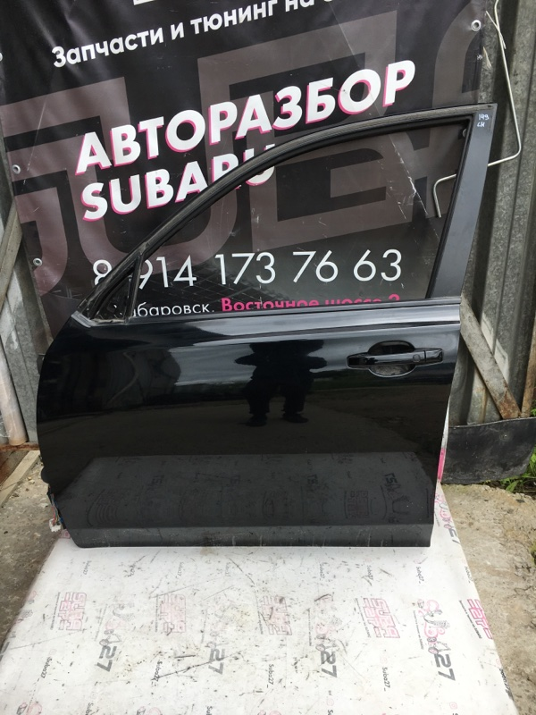 Дверь Subaru Exiga YA5 EJ205 2008 передняя левая (б/у)