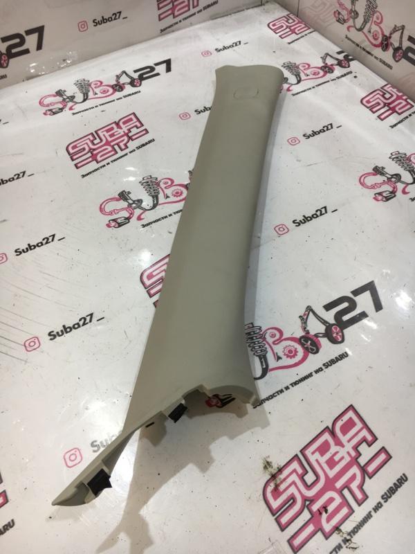 Накладка на стойку лобового стекла Subaru Impreza GH8 EJ20X 2011 правая (б/у)