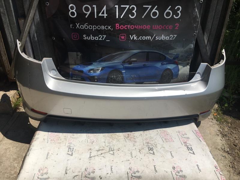 Бампер Subaru Impreza GH8 EJ20X 2011 задний (б/у)