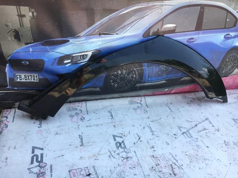 Молдинг на крыло Subaru Outback BPE EZ30 2006 задний левый (б/у)