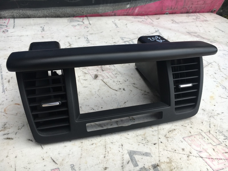 Рамка магнитолы Subaru Legacy BL5 EJ20X 2003 (б/у)