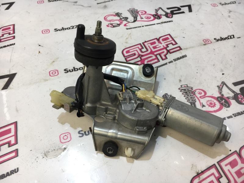Мотор дворников Subaru Legacy BL5 EJ20Y 2005 задний (б/у)