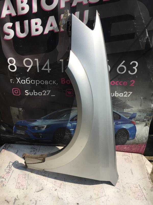 Крыло Subaru Outback BP9 EJ253 2003 переднее левое (б/у)