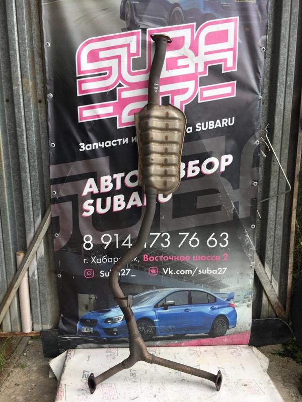 Выхлоп Subaru Forester SH5 EJ204 2008 (б/у)