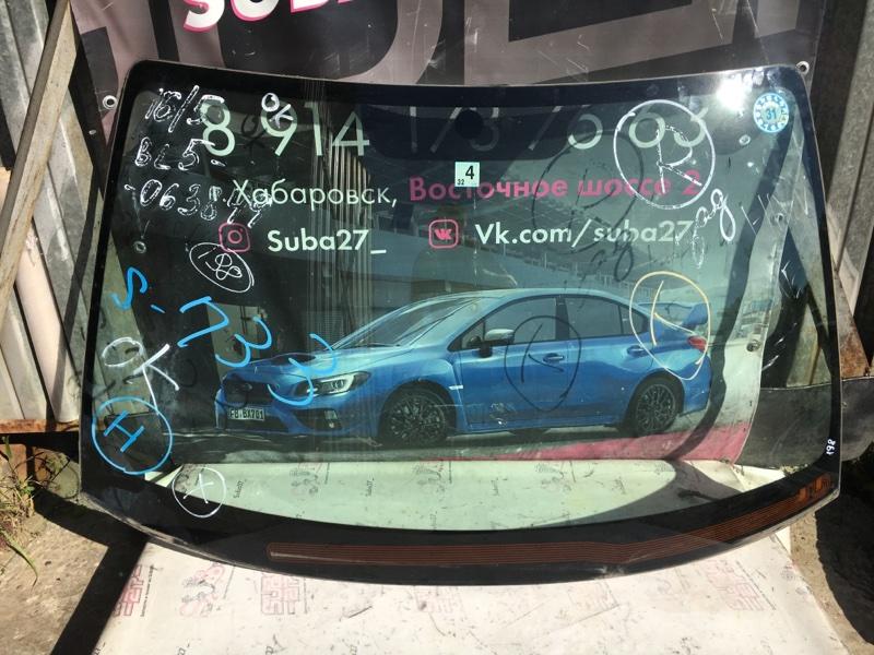 Стекло Subaru Legacy BL5 EJ20X 2008 переднее (б/у)