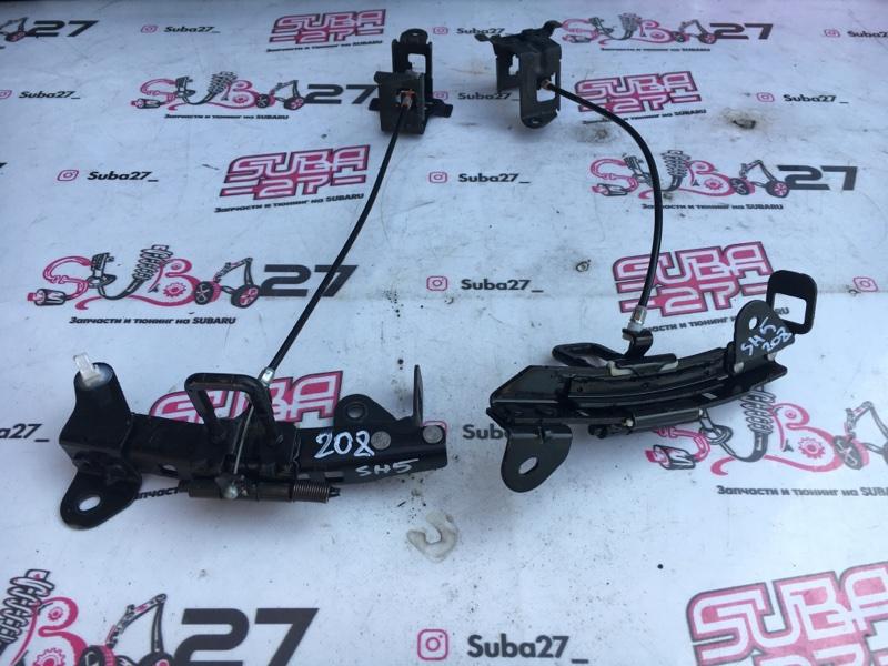 Механизм регулирования задних сидений Subaru Forester SH5 EJ204 2008 задний (б/у)