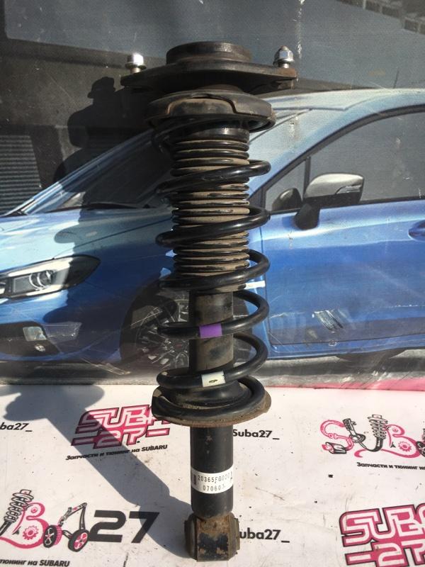 Стойки Subaru Impreza GH8 EJ20X 2008 задние (б/у)