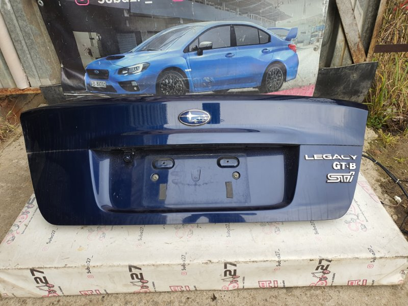 Крышка багажника Subaru Legacy BL5 EJ20X 2007 (б/у)