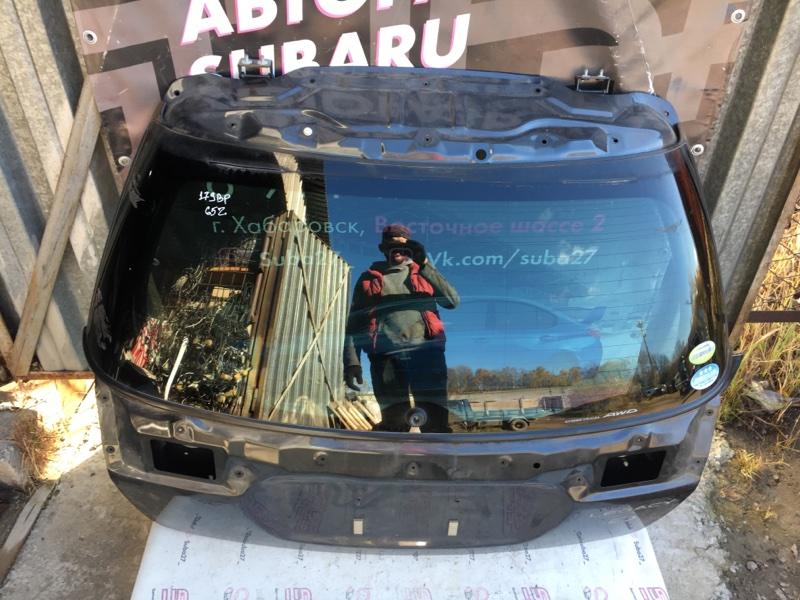 Стекло Subaru Legacy BP5 EJ20X 2008 заднее (б/у)