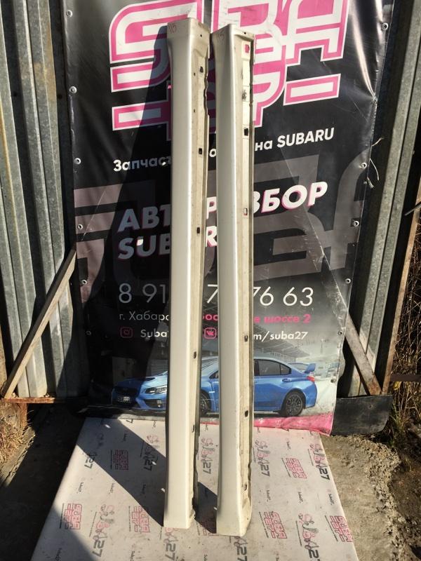 Порог Subaru Legacy BP5 EJ20X 2007 (б/у)
