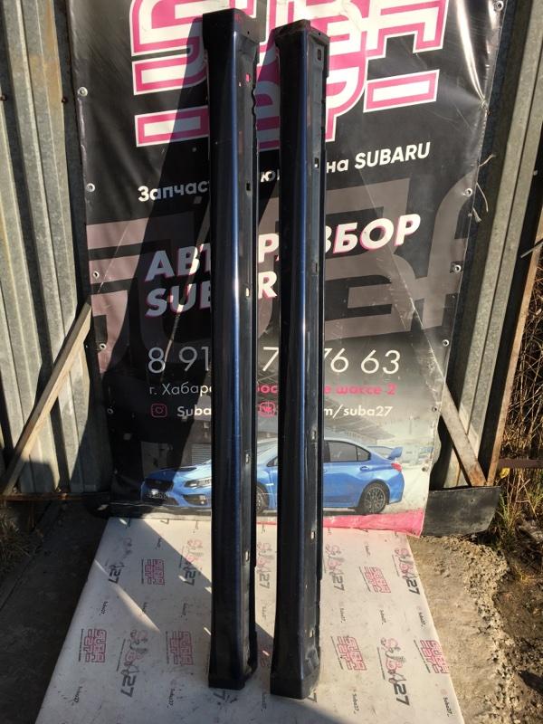 Порог Subaru Legacy BP5 EJ20X 2006 (б/у)