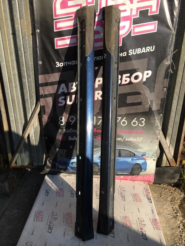 Порог Subaru Legacy BL5 EJ20X 2005 (б/у)