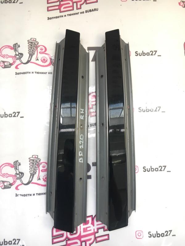 Накладки центральной стойки Subaru Legacy BP5 EJ20X 2003 (б/у)