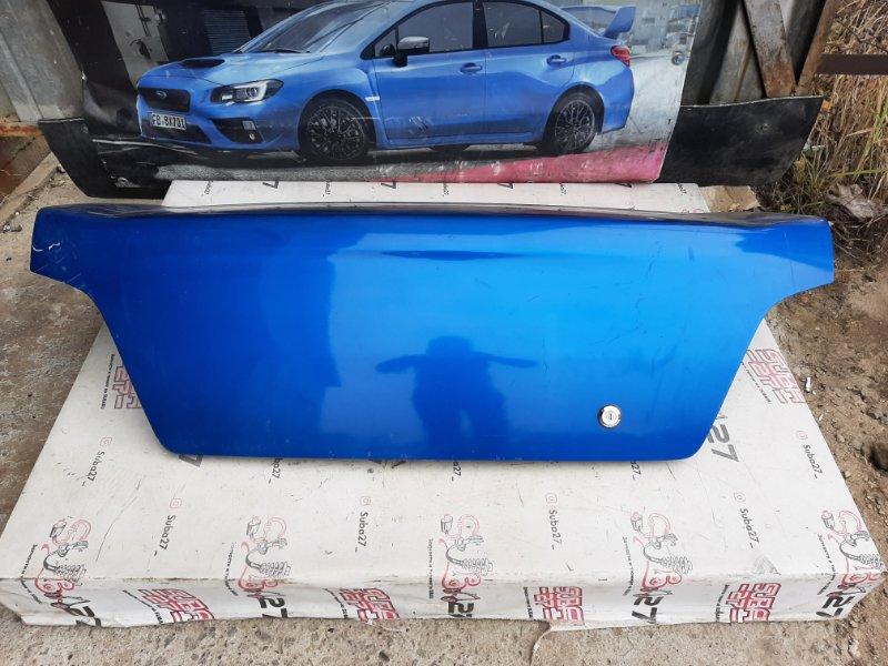 Крышка багажника Subaru Impreza GDA EJ205 2001 (б/у)