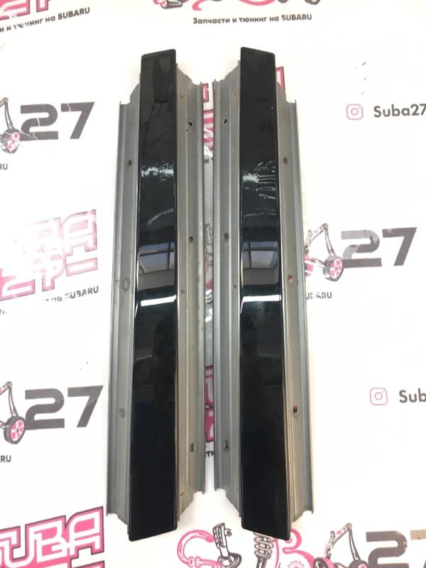 Накладки центральной стойки Subaru Legacy BL5 EJ20Y 2008 (б/у)