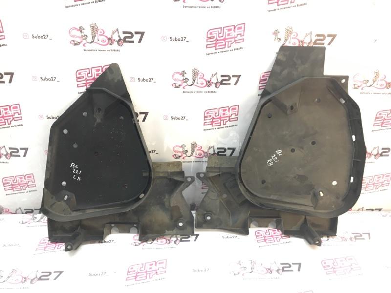 Защита бака Subaru Legacy BL5 EJ20Y 2008 (б/у)