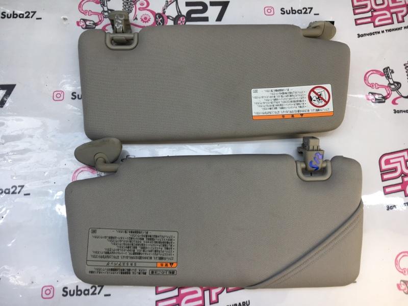 Козырек солнцезащитный Subaru Legacy BP5 EJ20X 2003 (б/у)