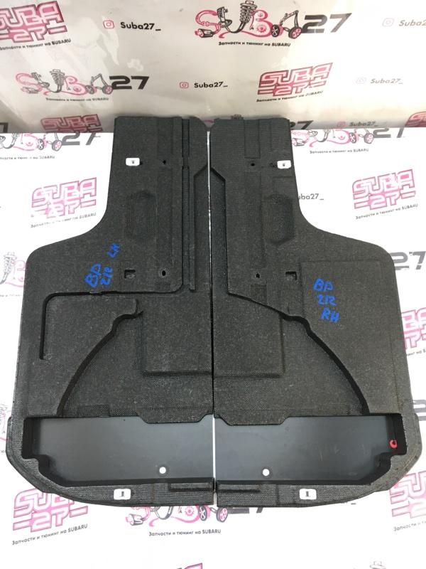 Пенопласт багажника Subaru Legacy BP5 EJ20X 2007 (б/у)