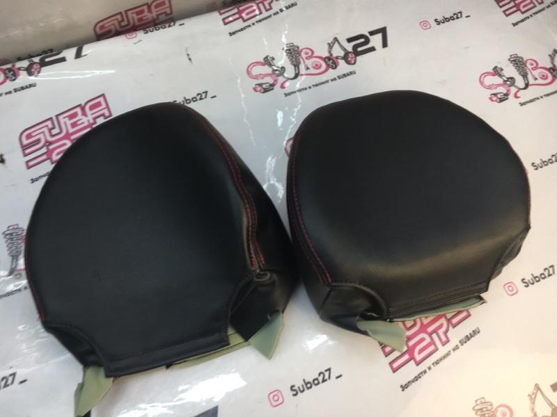 Чехлы на сидения Subaru Legacy BP5 EJ204 2005 передние (б/у)