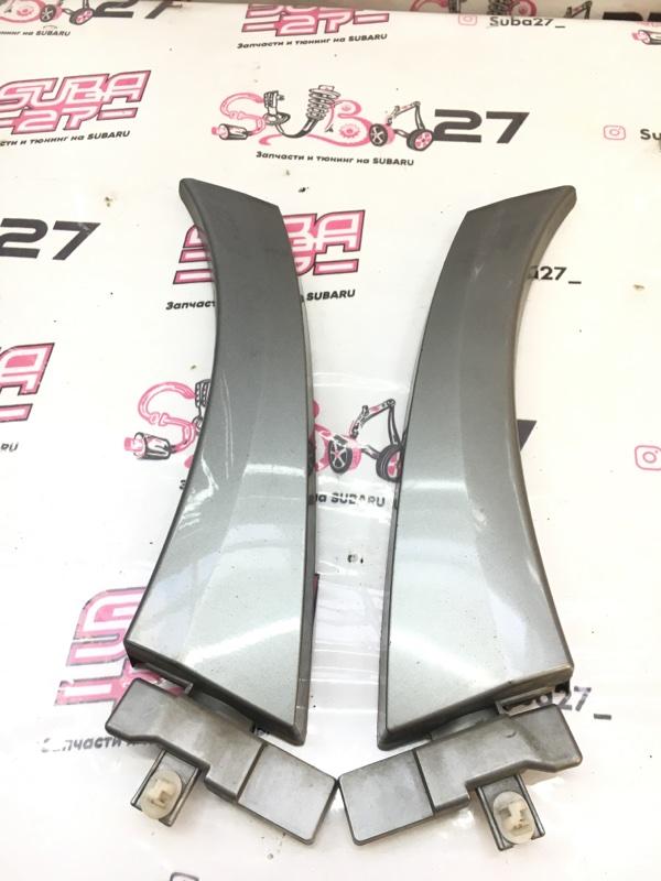Накладка на крыло Subaru Legacy BP5 EJ204 2005 задняя (б/у)
