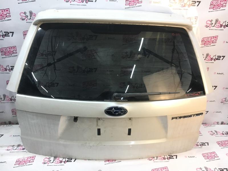Дверь багажника Subaru Forester SH5 EJ204 2008 задняя (б/у)