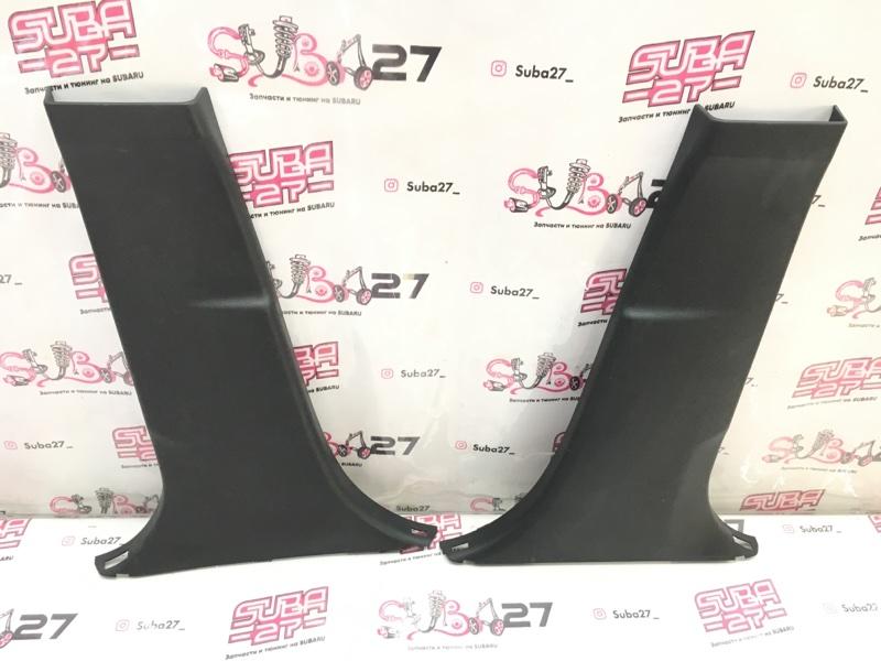 Накладки центральной стойки Subaru Legacy BMM FB25 2012 (б/у)