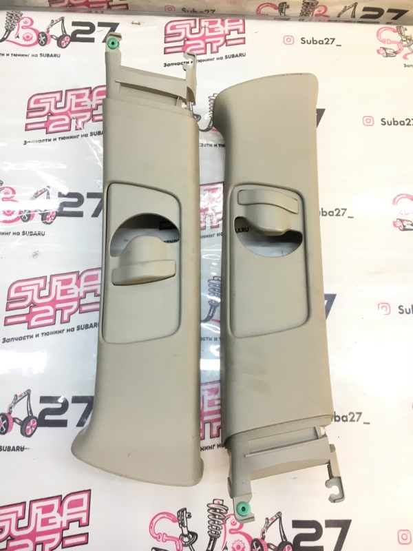 Накладки центральной стойки Subaru Legacy BP5 EJ20X 2004 (б/у)