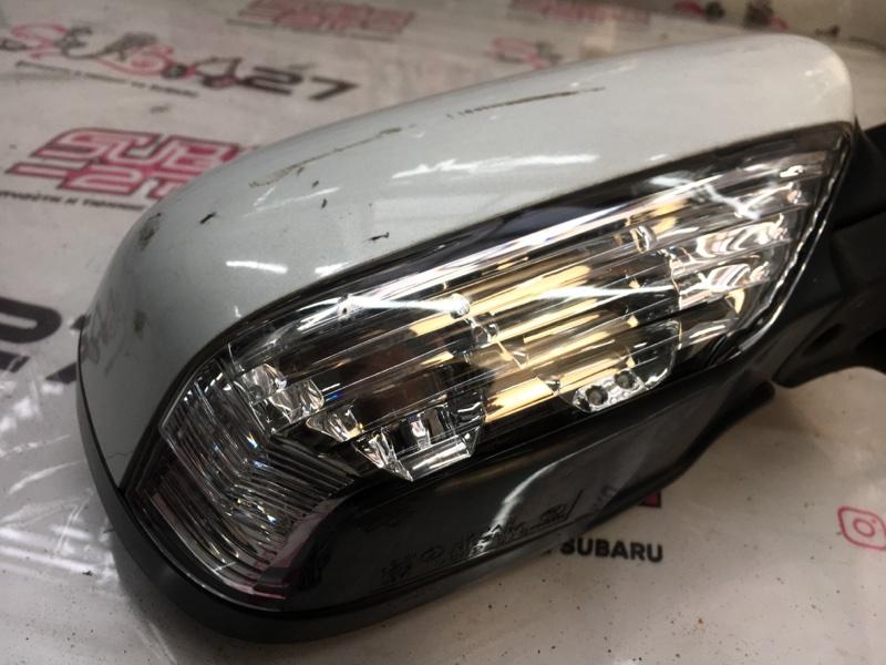 Зеркало заднего вида боковое Subaru Legacy BLE EZ30 2004 правое (б/у)